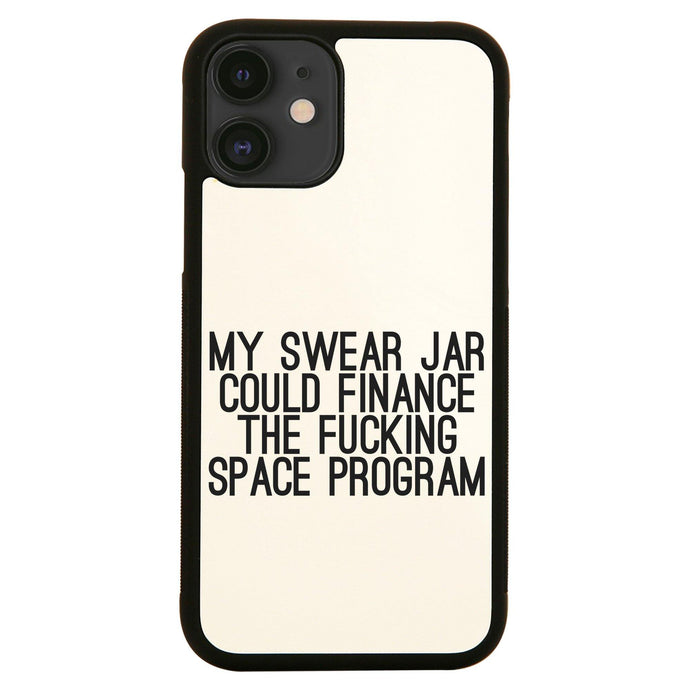 My swear jar funny rude offensive iPhone case cover 11 11Pro Max XS XR X