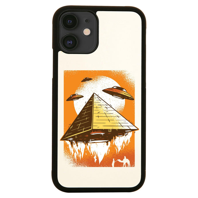 Pyramid ufo funny iPhone case cover 11 11Pro Max XS XR X