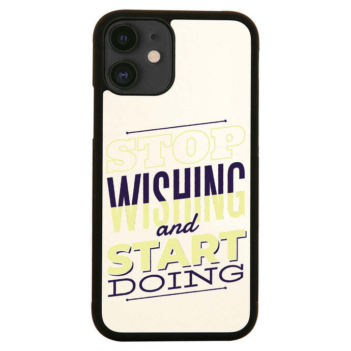 Start doing motivational iPhone case cover 11 11Pro Max XS XR X
