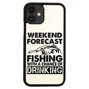 Weekend forecast fishing funny case cover for iPhone 11 11pro max xs xr x - Graphic Gear