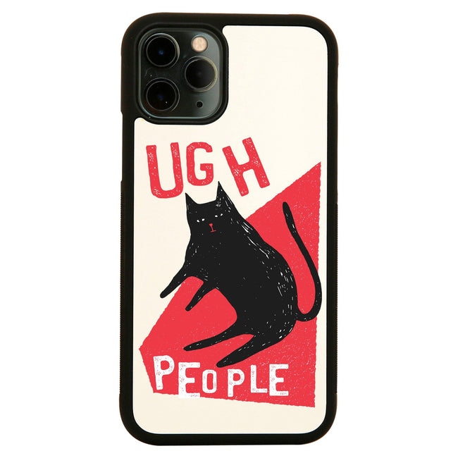Ugh people funny rude offensive iPhone case cover 11 11Pro Max XS XR X - Graphic Gear