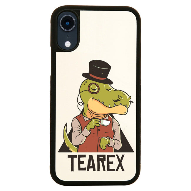 Tearex dinosaur funny design iPhone case cover 11 11Pro Max XS XR X - Graphic Gear
