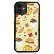 Junk food pattern design funny iPhone case cover 11 11Pro Max XS XR X - Graphic Gear