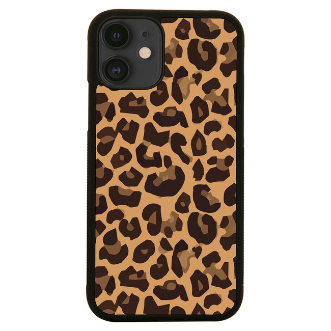 Leopard skin seamless pattern illustration design iPhone case cover 11 11Pro Max XS XR X - Graphic Gear