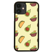 Mexican food pattern design funny illustration iPhone case cover 11 11Pro Max XS XR X - Graphic Gear