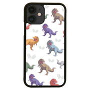 T-rex colorful pattern design funny illustration iPhone case cover 11 11Pro Max XS XR X - Graphic Gear