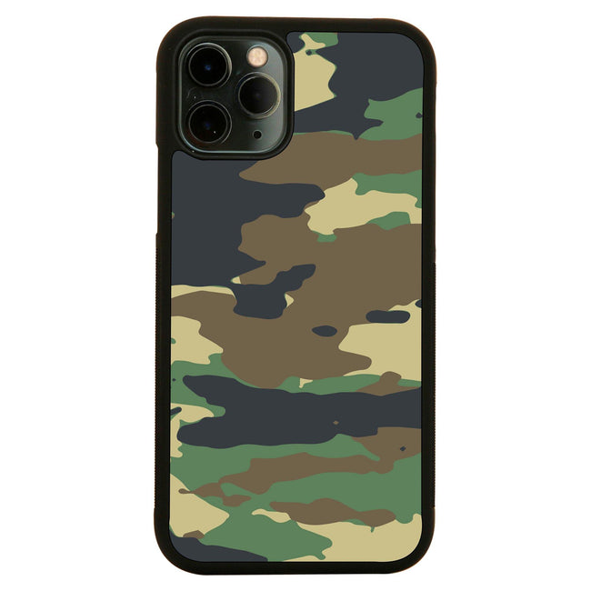 Camo pattern design iPhone case cover 11 11Pro Max XS XR X - Graphic Gear
