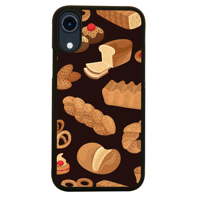 Bakery pattern design iPhone case cover 11 11Pro Max XS XR X - Graphic Gear