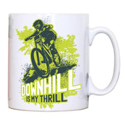 Downhill biking mountain bike mug coffee tea cup - Graphic Gear
