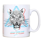 Retro have leopard abstract illustration mug coffee tea cup - Graphic Gear