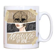 Skull girl abstract art design mug coffee tea cup - Graphic Gear