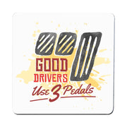 Good drivers funny car coaster drink mat - Graphic Gear