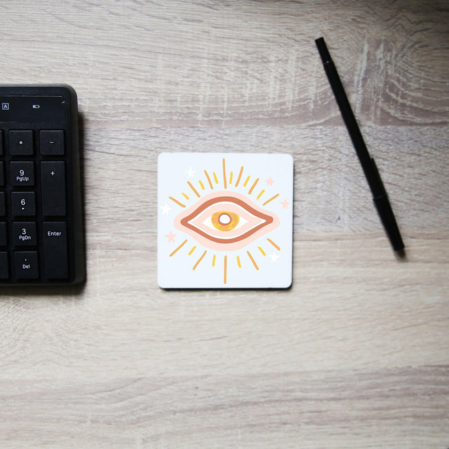 Eye abstract illustration coaster drink mat - Graphic Gear