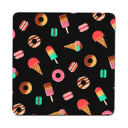 Candy sweet funny illustration design coaster drink mat - Graphic Gear