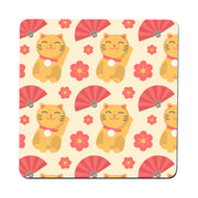Cute Japanese pattern design coaster drink mat - Graphic Gear
