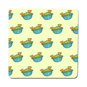 Guacamole pattern design funny coaster drink mat - Graphic Gear