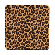 Leopard skin seamless pattern illustration design coaster drink mat - Graphic Gear