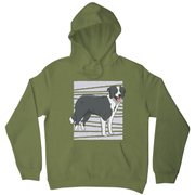 Border collie dog hoodie - Graphic Gear