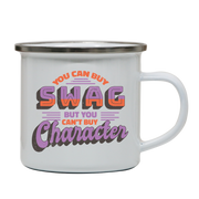 Swag character enamel camping mug outdoor cup colors