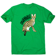 Savannah Cat men's t-shirt