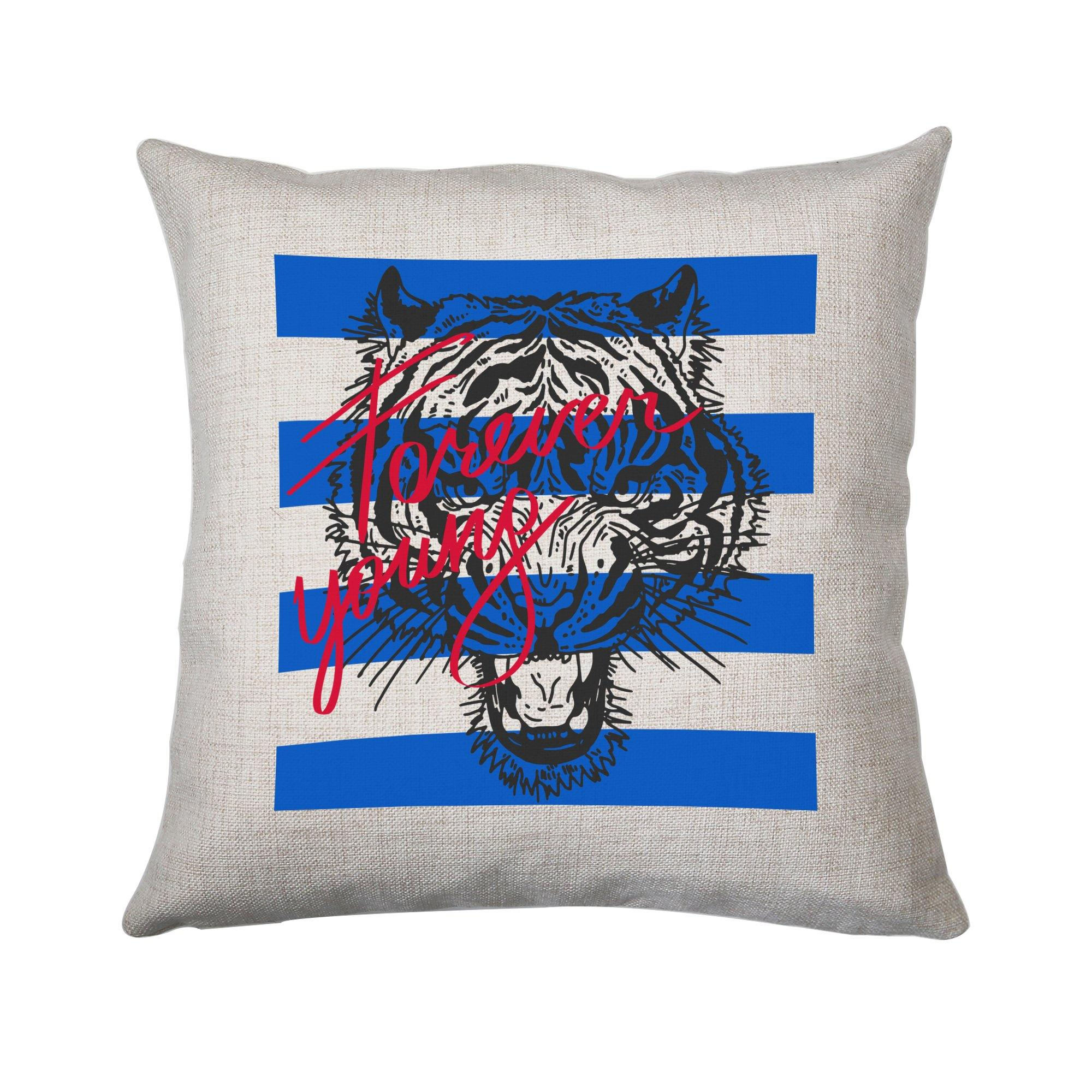 Forever Young Abstract Art Design Cushion Cover Pillowcase Linen Home Decor Graphic Gear