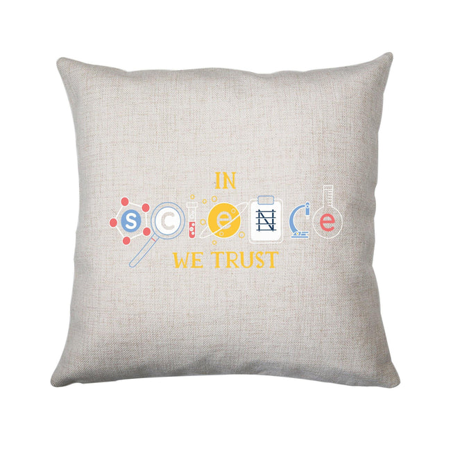 Science quote funny cushion cover pillowcase linen home decor - Graphic Gear
