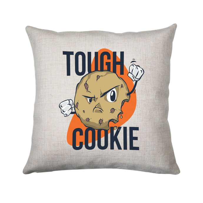 Though cookie funny cushion cover pillowcase linen home decor