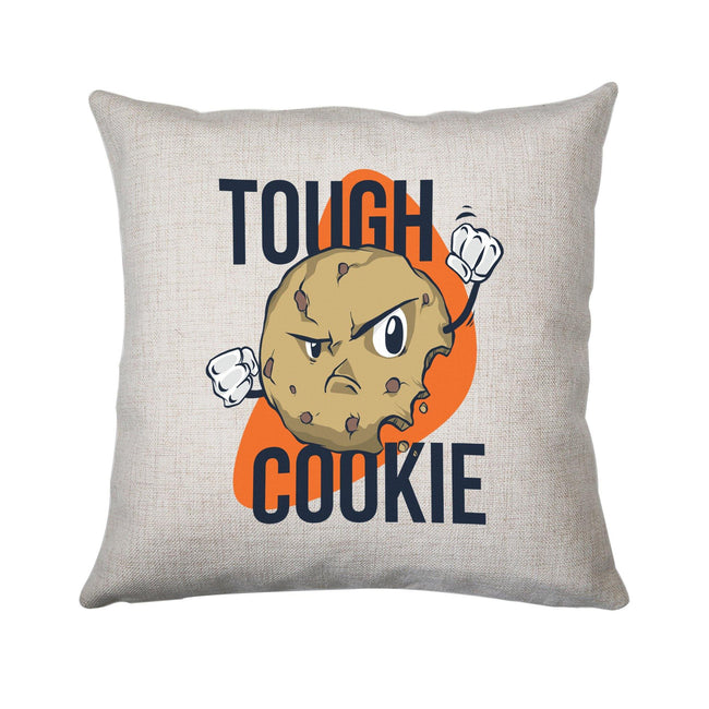 Though cookie funny cushion cover pillowcase linen home decor - Graphic Gear