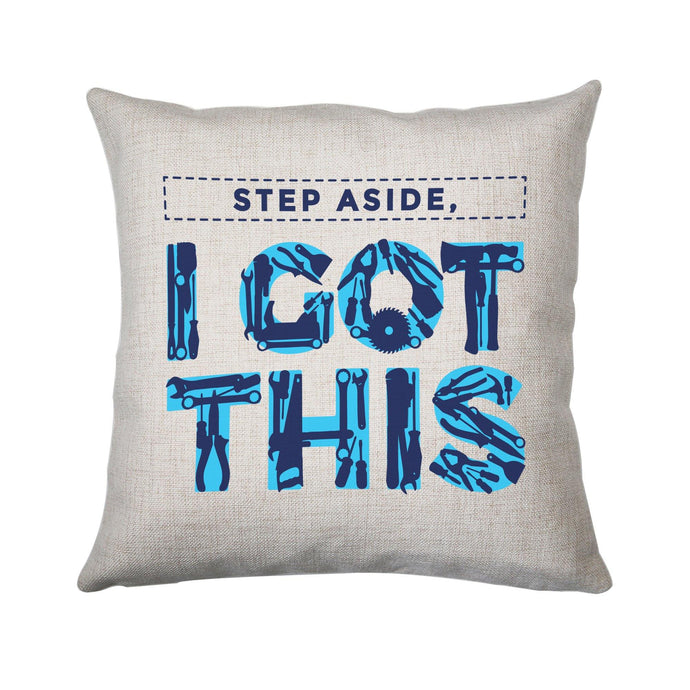Tools funny diy cushion cover pillowcase linen home decor