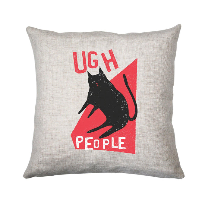 Ugh people funny rude offensive cushion cover pillowcase linen home decor