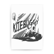 Kite Buggy 2 print poster wall art decor