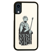 Veni vidi vici Julius Ceasar quote iPhone case cover 11 11Pro Max XS XR X - Graphic Gear