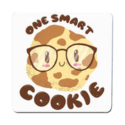 Smart cookie funny coaster drink mat
