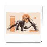 Komodo Dragon coaster drink mat