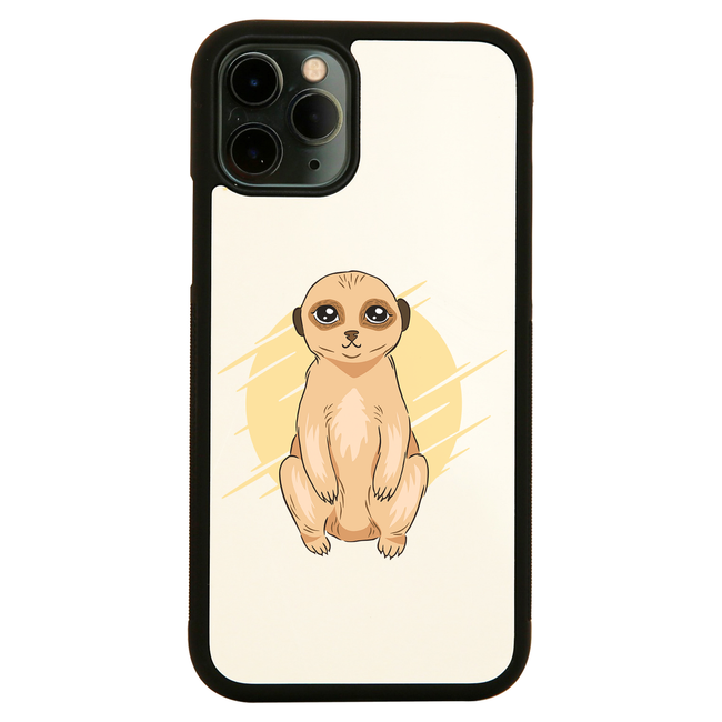 Cute Meerkat iPhone case cover 11 11Pro Max XS XR X - Graphic Gear