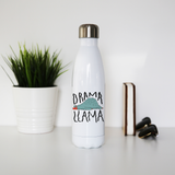 Drama llama funny water bottle stainless steel reusable