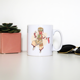 Peruvian scissor dancer mug coffee tea cup