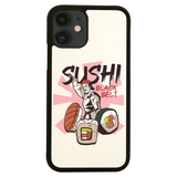Sushi black belt funny iPhone case cover 11 11Pro Max XS XR X - Graphic Gear