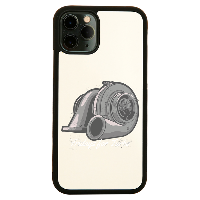 Turbo compressor iPhone case cover 11 11Pro Max XS XR X