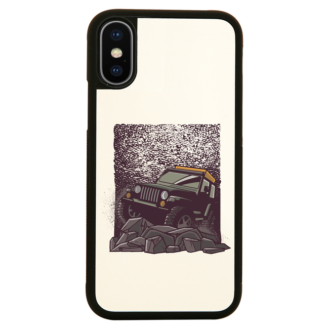 Rocky road jeep iPhone case cover 11 11Pro Max XS XR X