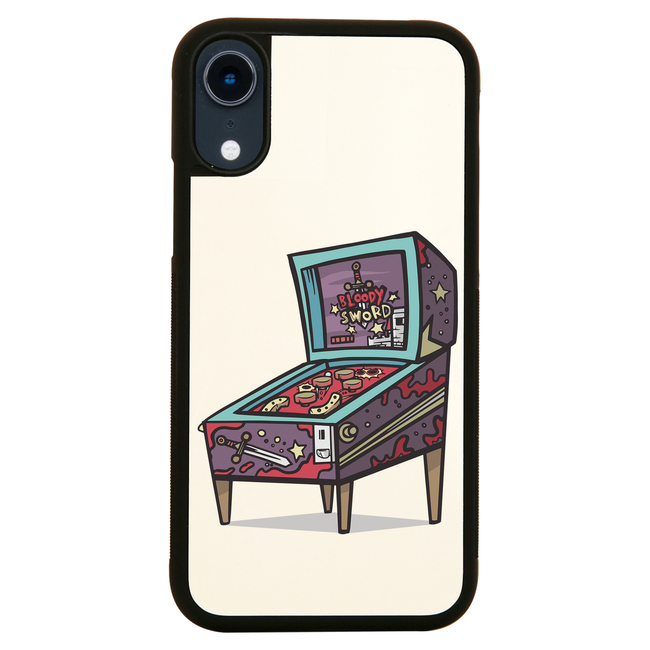Pinball machine game iPhone case cover 11 11Pro Max XS XR X