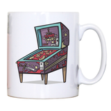 Pinball machine game mug coffee tea cup