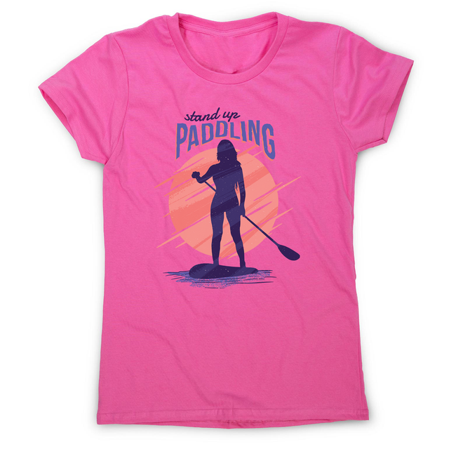 Stand up paddling women's t-shirt - Graphic Gear