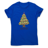Avocado christmas tree women's t-shirt - Graphic Gear