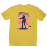 Stand up paddling men's t-shirt