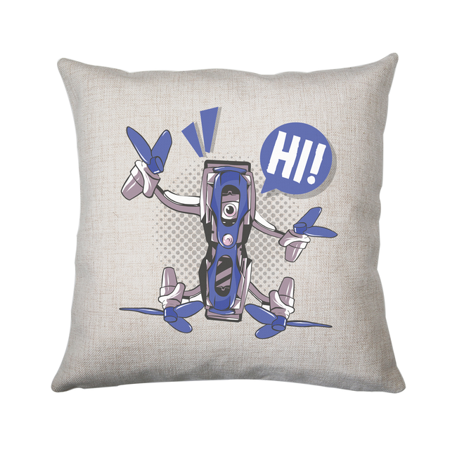 Quadcopter drone cushion cover pillowcase linen home decor