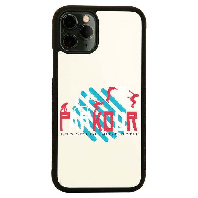 Parkour quote iPhone case cover 11 11Pro Max XS XR X - Graphic Gear