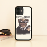 Dog danger iPhone case cover 11 11Pro Max XS XR X - Graphic Gear