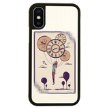 Abstract girl iPhone case cover 11 11Pro Max XS XR X
