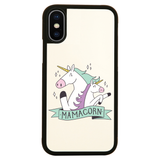 Mama unicorn iPhone case cover 11 11Pro Max XS XR X - Graphic Gear